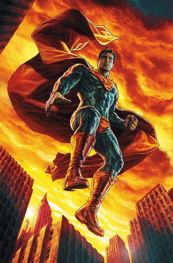 ACTION COMICS #1000 2000s - couverture variante par Lee Bermejo