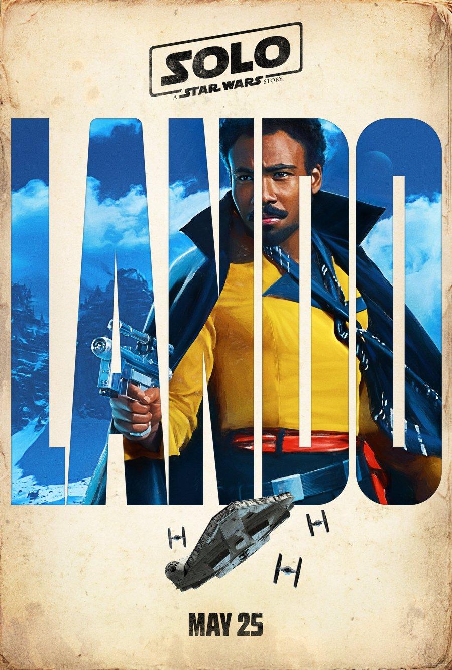 Solo: A Star Wars Story, le poster de Lando