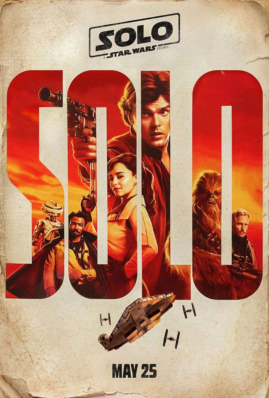 Solo: A Star Wars Story, l'affiche principale