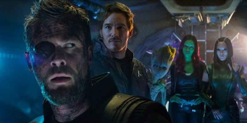 Thor et les Gardiens de la Galaxie dans Avengers: Infinity War