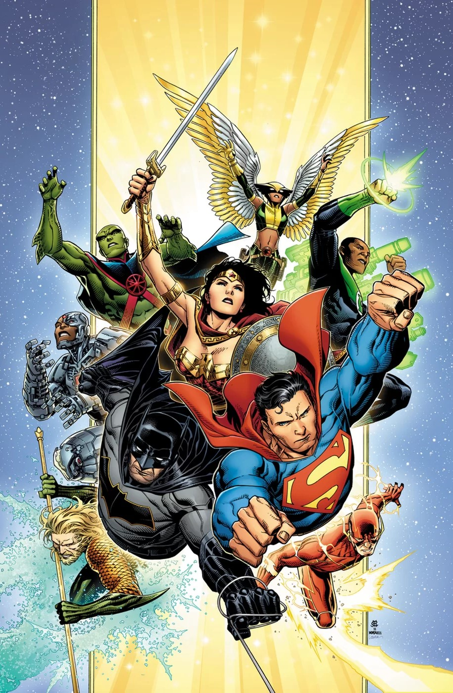 Justice League par Jim Cheung