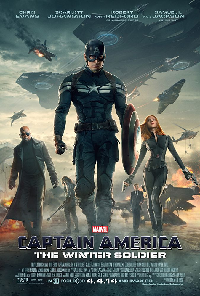 Affiche Captain America 2 : Le Soldat de l'hiver
