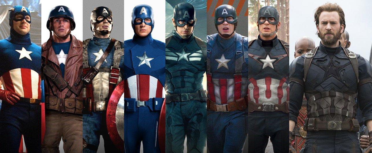 L'évolution de Captain America dans le MCU