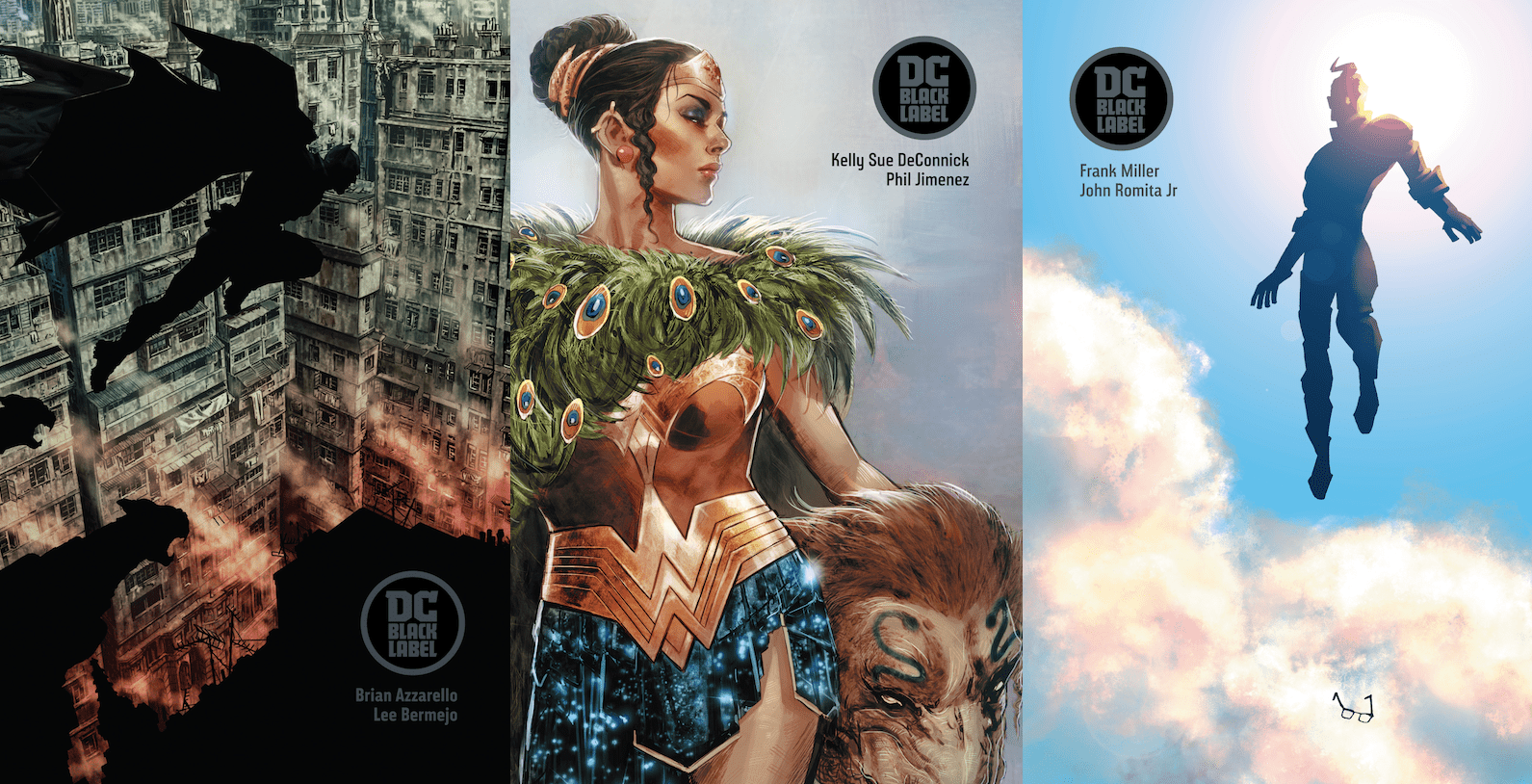 Black Label, le nouveau label de DC Comics