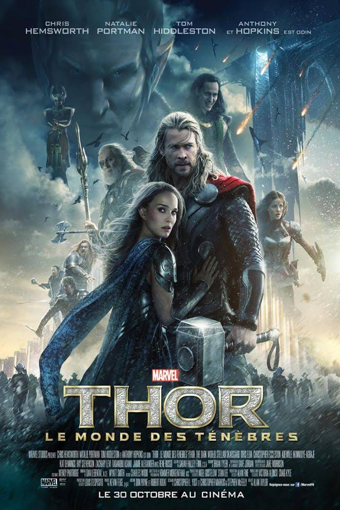Affiche Thor 2 : Le Monde des Ténèbres