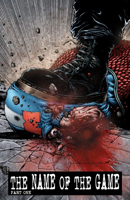The Boys Captain America