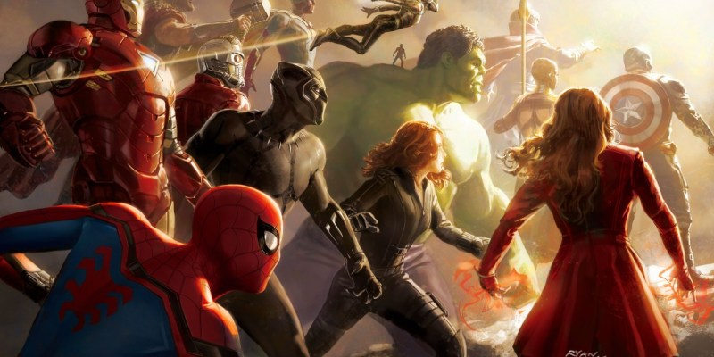Concept Art d'Avengers: Infinity War par Ryan Meindering