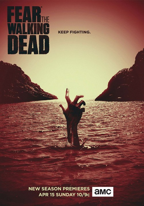 affiche Fear the Walking Dead