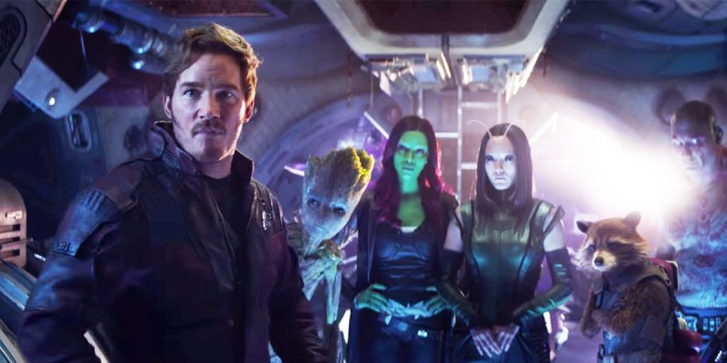 Les Gardiens de la Galaxie dans Avengers: Infinity War