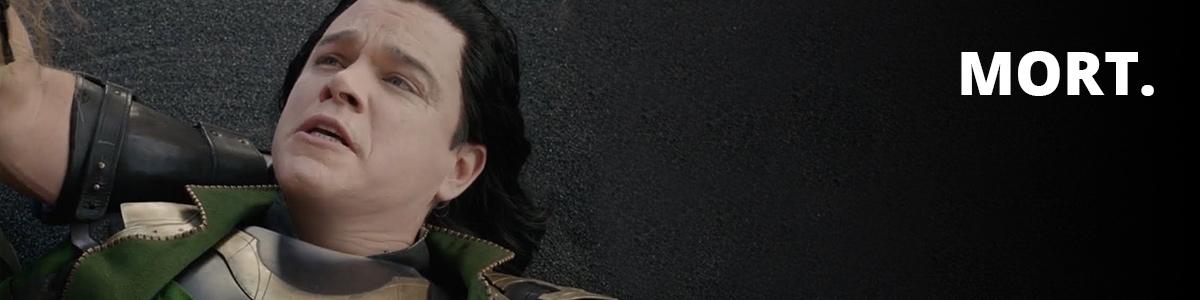 Matt Damon imitant Loki dans Thor: Ragnarok