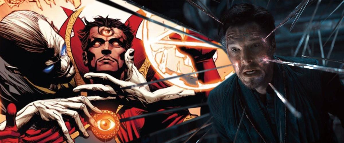 Dr Strange dans Avengers: Infinity War