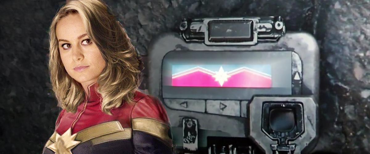 Captain Marvel dans Avengers: Infinity War