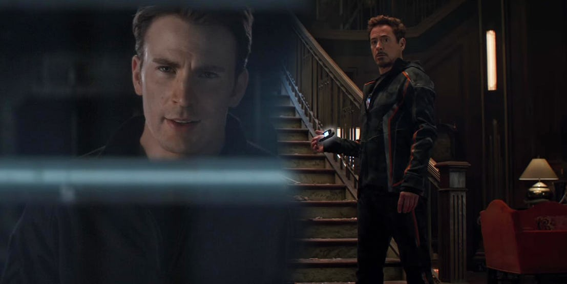 Captain America: Civil War et Avengers: Infinity war
