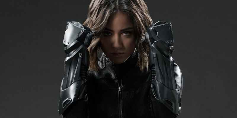 Chloe-Bennet dans le rôle de Daisy Johnson alias Quake dans Agens of SHIELD