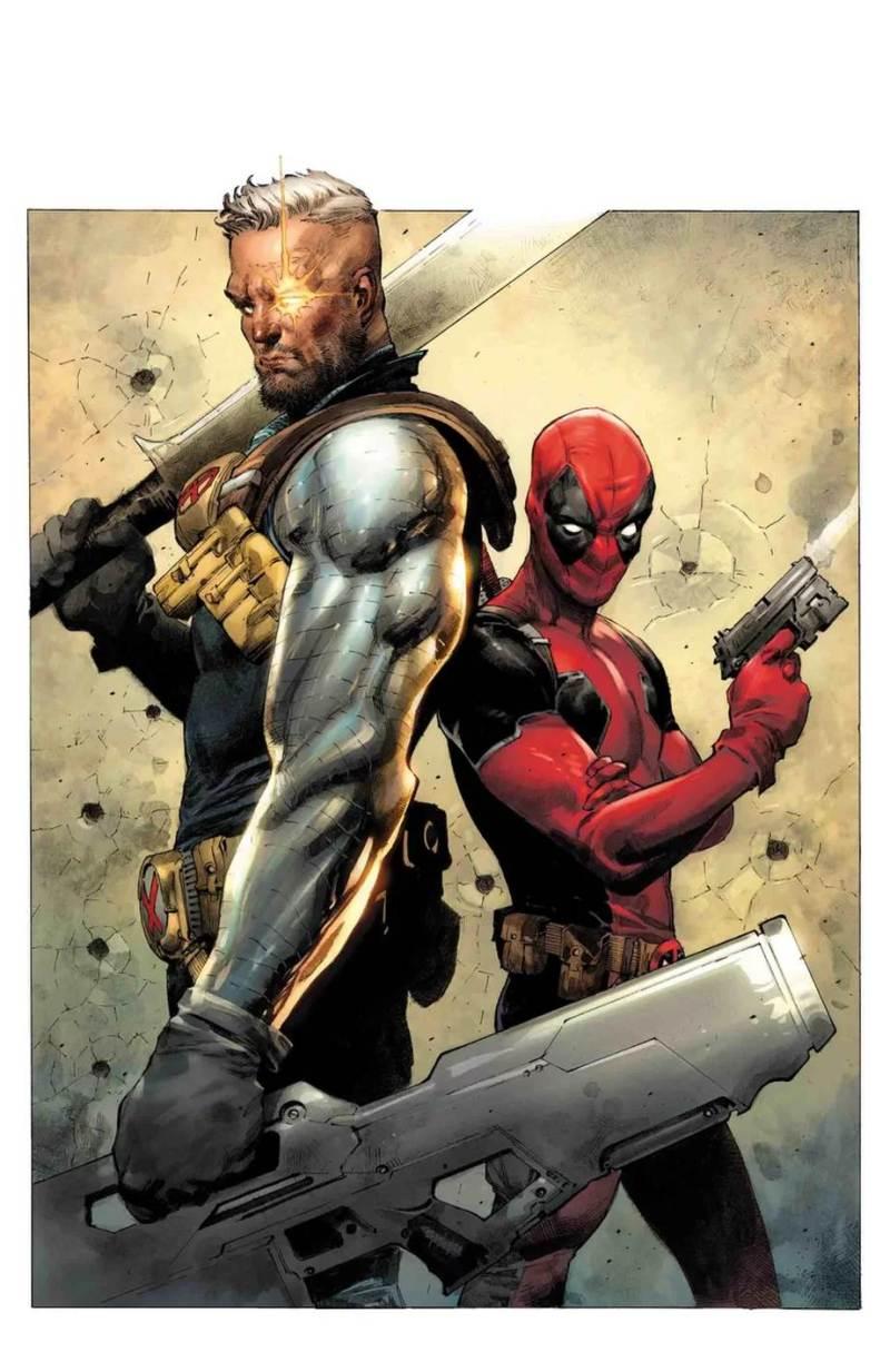 Deadpool #1 variant cover par Jerome Opena