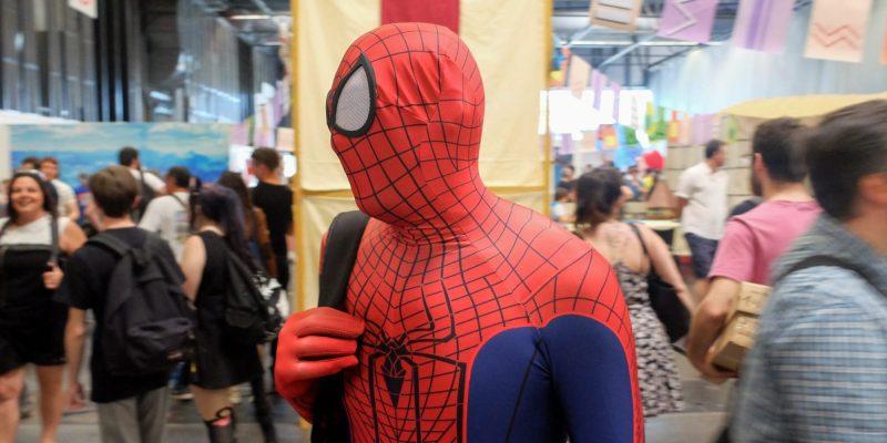 Bordeaux Geek Festival : Fin de journée pour Spider Man