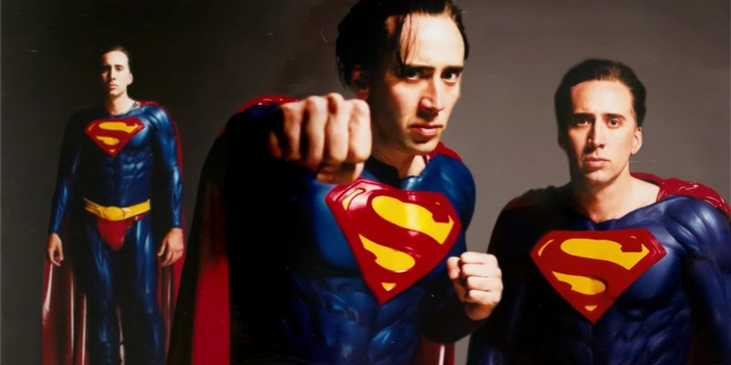 Superman Lives de Tim Burton avec Nicolas Cage