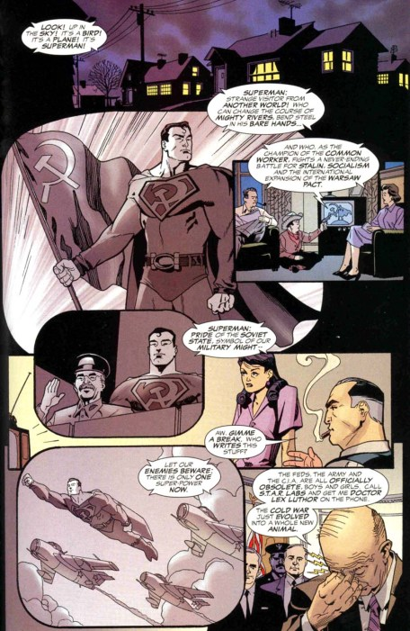 Superman Red Son incipit planche 4