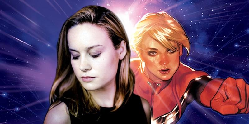 Brie Larson est Captain Marvel