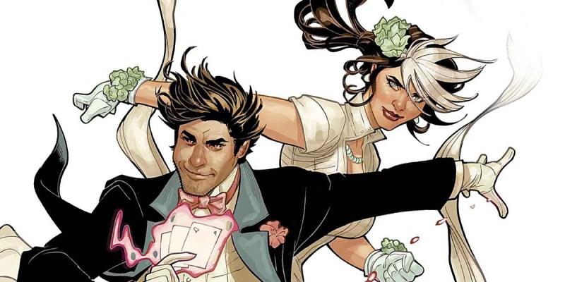 Gambit et Rogue sont Mr. & Mrs X.
