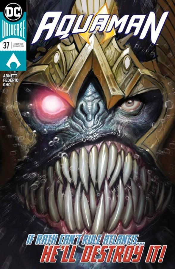 Aquaman #37 - couverture de Stjepan Sejic