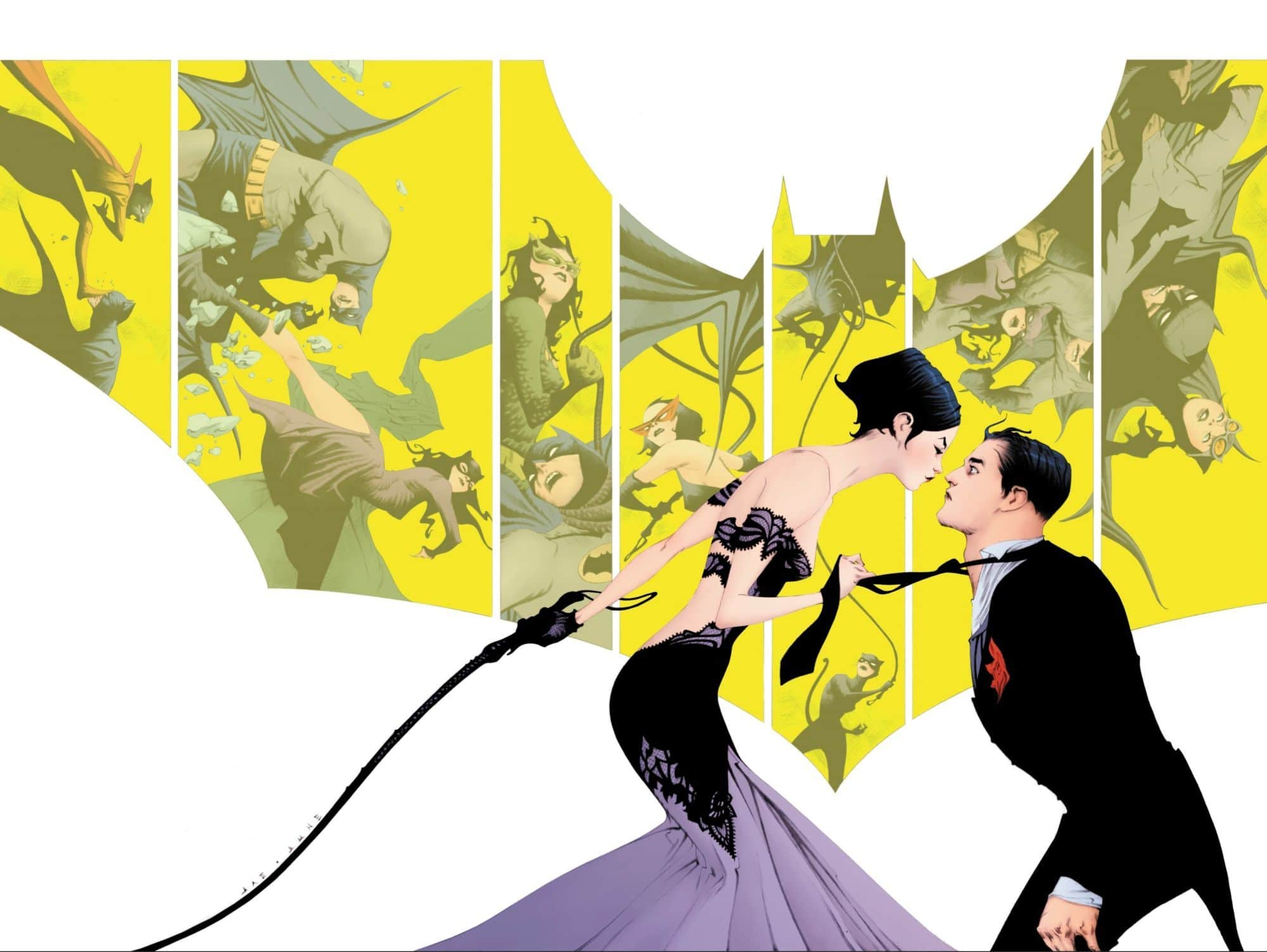 Batman #50, couverture alternative de Jae Lee
