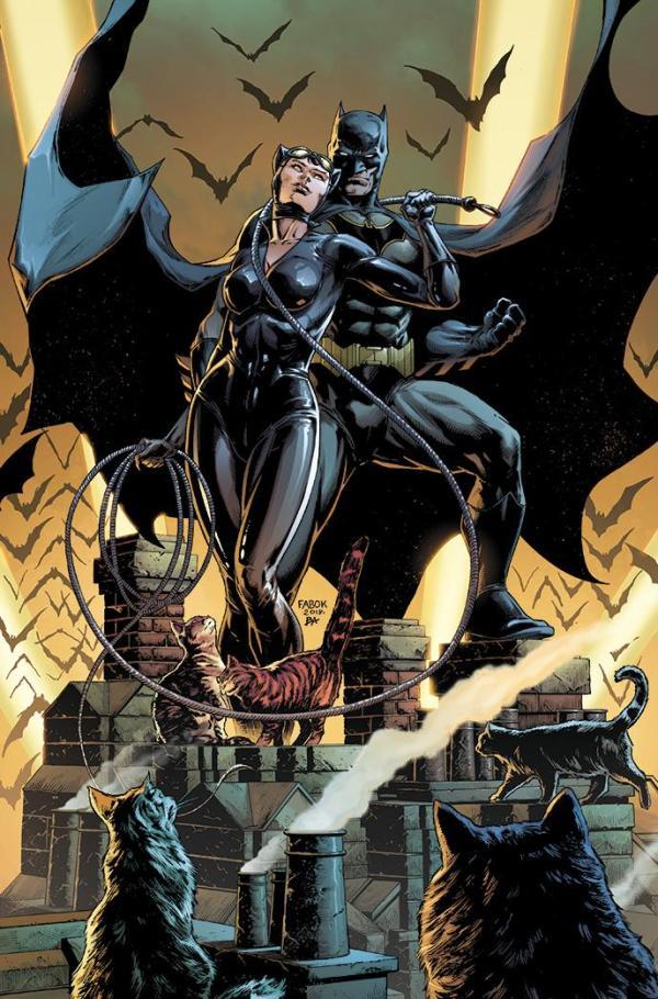 Batman #50, couverture alternative de Jason Fabok