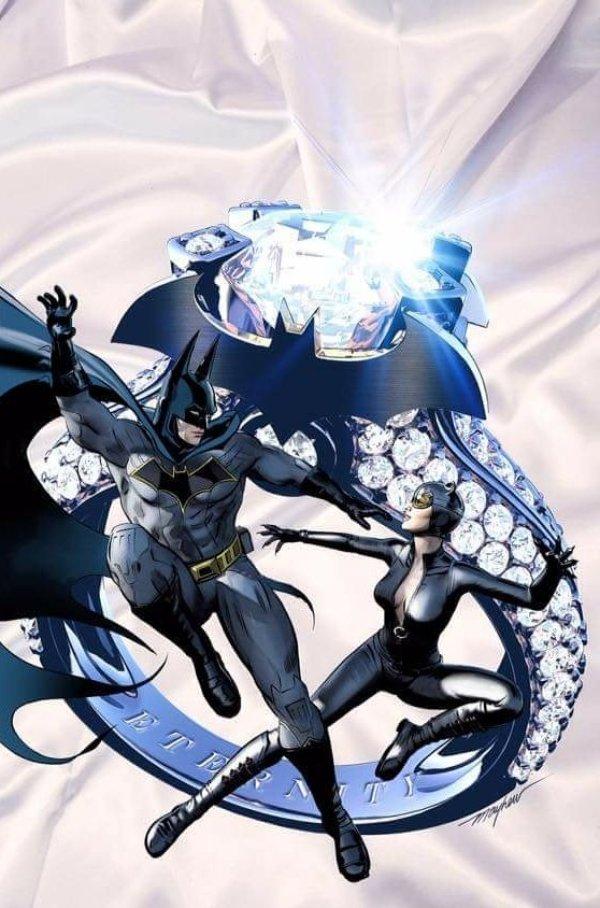Batman #50, couverture alternative de Mike Mayhew