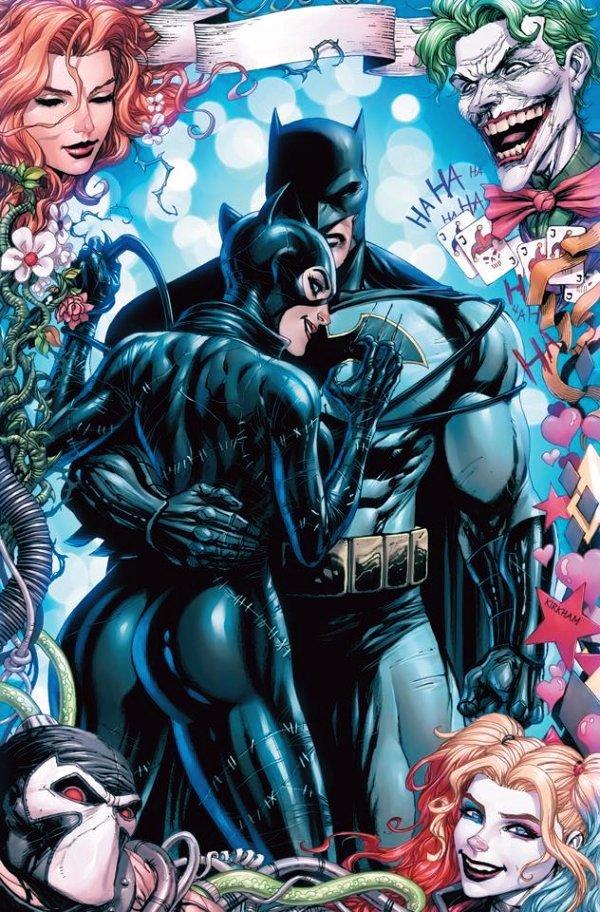 Batman #50, couverture alternative de Tyler Kirkham