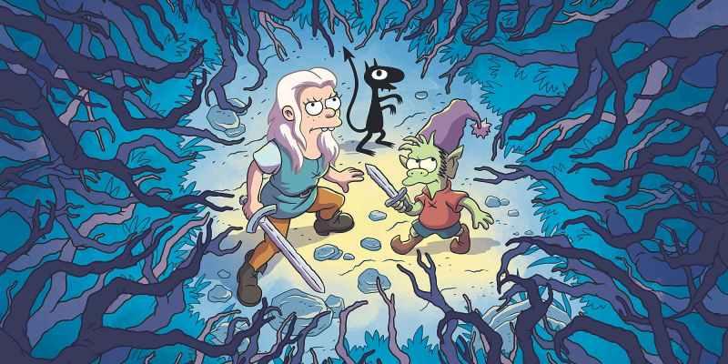 Désanchantée, la nouvelle série de Matt Groening sur Netflix