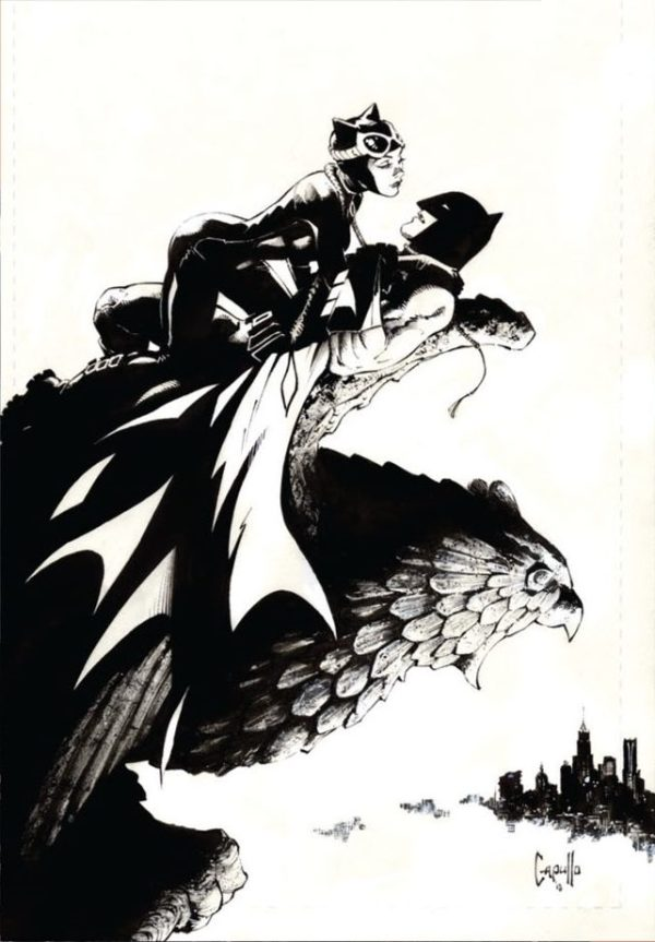 Batman #50, couverture alternative de Greg Capullo