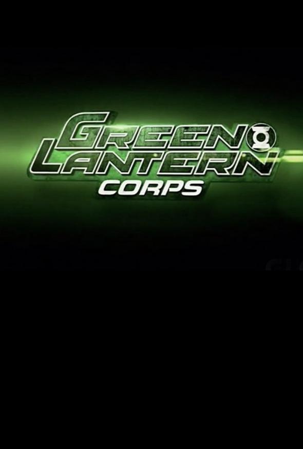 Affiche Green Lantern Corps