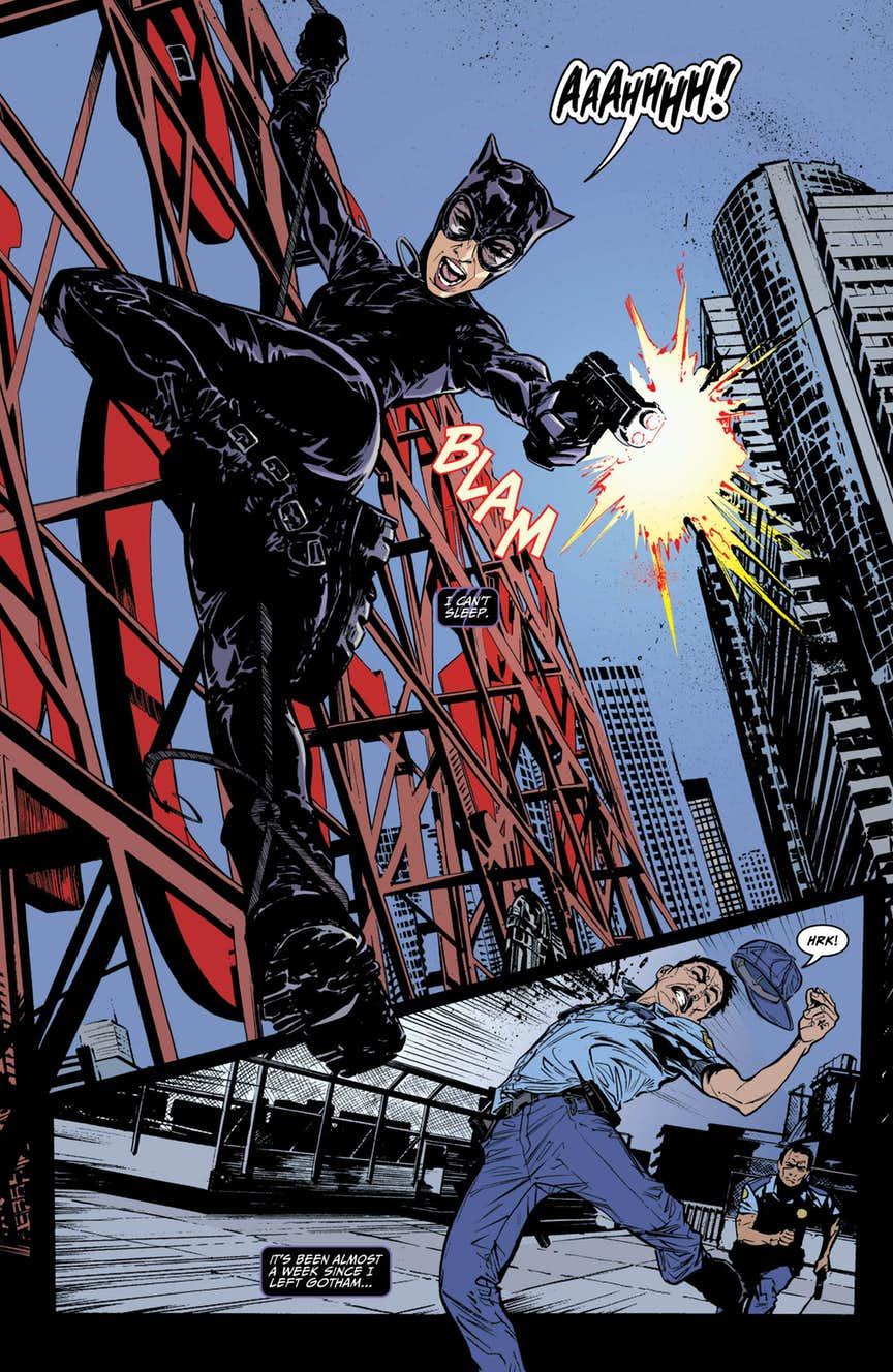 Catwoman #1, par Joëlle Jones