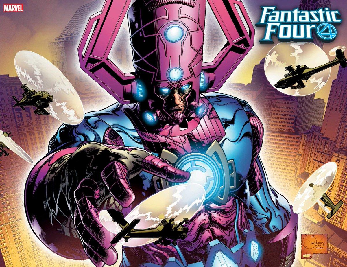 Fantastic Four #1 -couverture variante par Joe Quesada