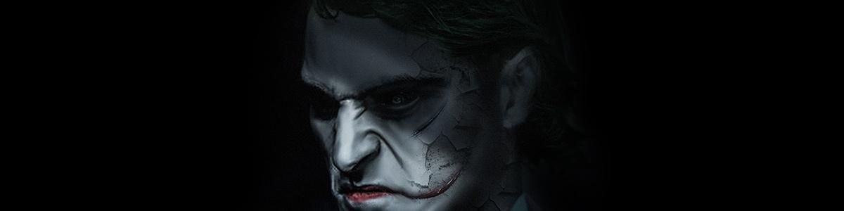 Joaquin Phoenix dans le rôle du Joker vu par BossLogic