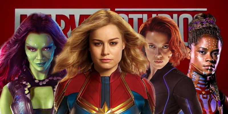 Gamora, Captain Marvel, Black Widow et Shuri : Les super-héroïnes du Marvel Cinematic Universe