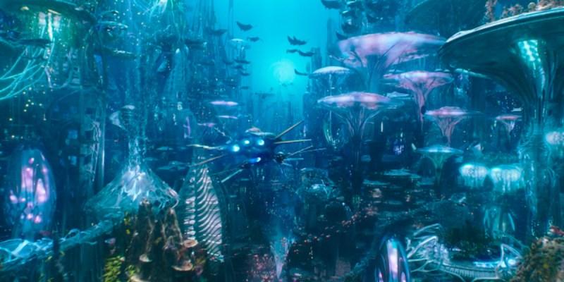 Atlantis dans le film Aquaman