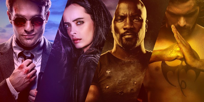 Netflix's Daredevil, Jessica Jones, Luke Cage, Iron Fist : The Defenders