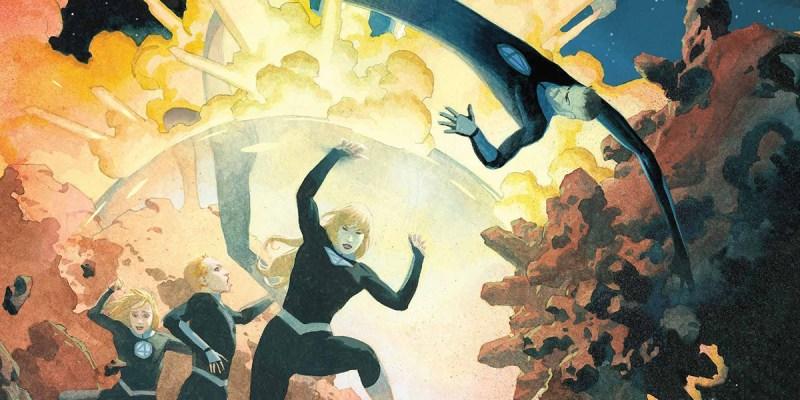 Fantastic Four #2, couverture de Esad Ribic