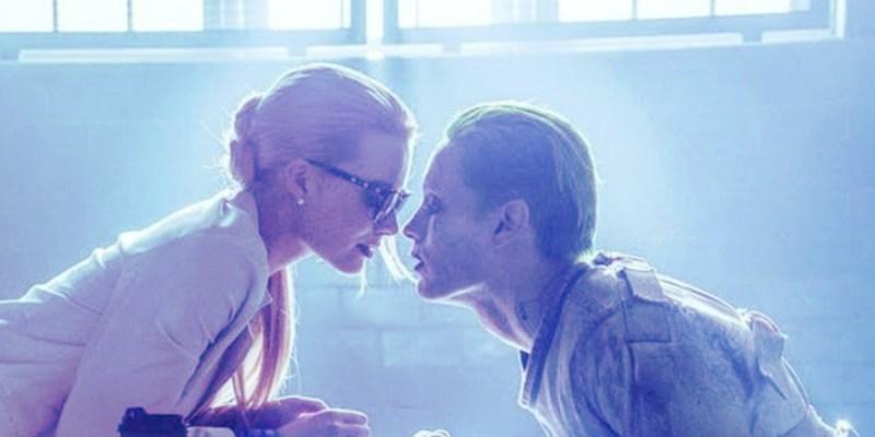 Harley Quinn (Margot Robbie) et le Joker (Jared Leto) dans Suicide Squad