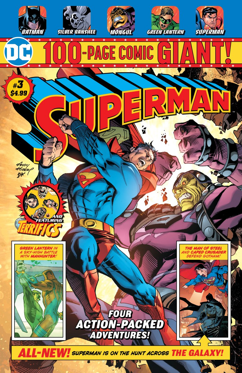 100-Pages Giants Superman, par Tom King et Andy Kubert (pour la Walmart)