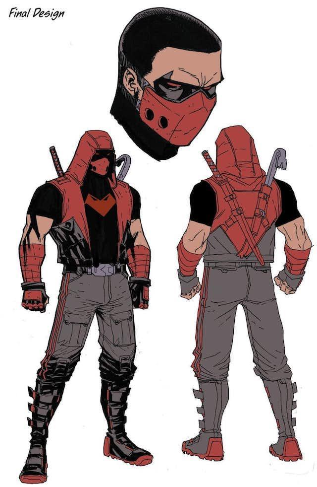 Le nouveau design de Red Hood par Pete Woods