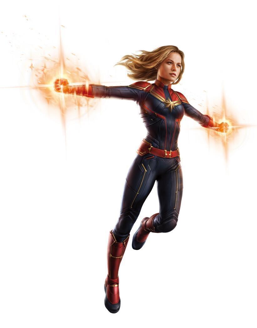 Captain Marvel dans Avengers 4