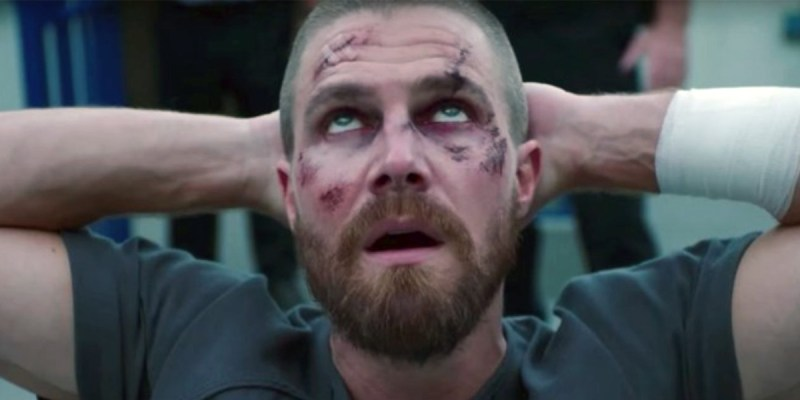 Oliver Queen (Stephen Amell) dans Arrow