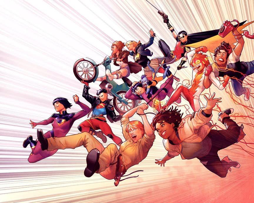 La collection Wonder Comics de DC