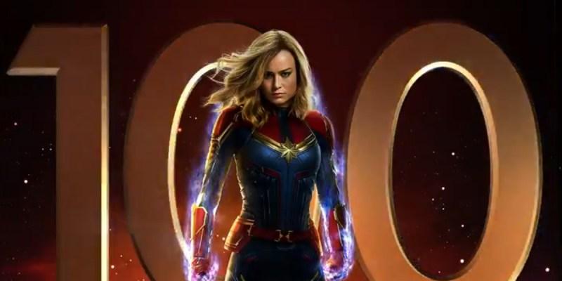 Captain Marvel sort dans 100 jours