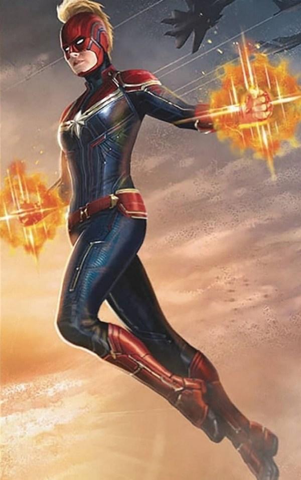 Captain Marvel, image promotionnelle