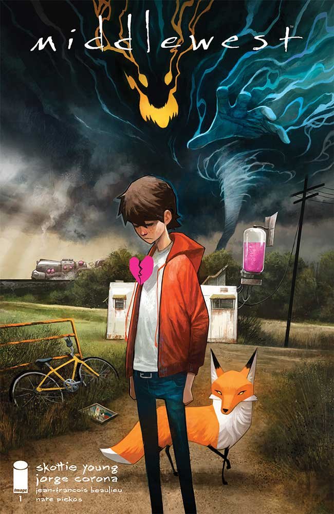 Middelwest #1, couverture de Mike Huddleston