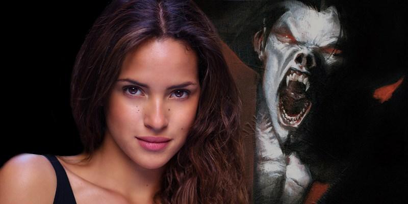 Adria Arjona dans le film Morbius