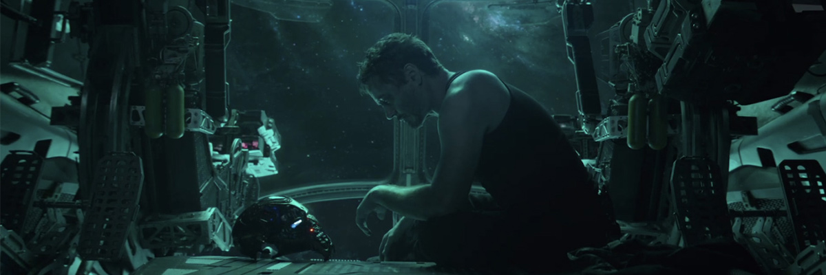 Tony Stark (Robert Downey Jr) dans Avengers: Endgame